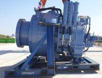 WINERGY Getriebe PZFB 3680,2 mit Transportrahmen, für Senvion Turbine 5M
