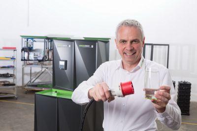 Helmut Mayer, Geschäftsführer BlueSky Energy