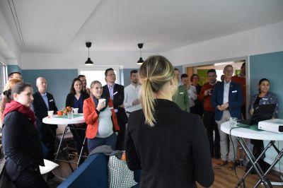 Eröffnungsfeier mit Kunden und Freunden von Sustainalize