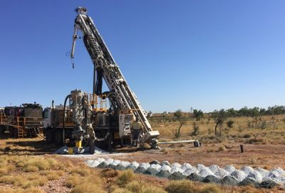 Bohrungen; Foto: De Grey Mining