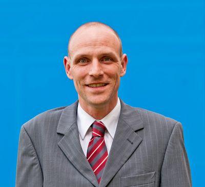 Maik Junker, Vorstandsvorsitzender der M4Energy eG. Foto: Ines Weitermann/ Presse & Marketing