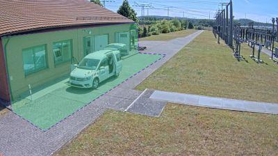 Digitalisierung am Stromnetz von E.DIS: KI analysiert die Kamerabilder (Quelle: Natix).
