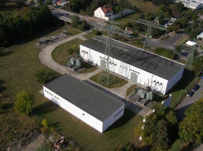 Energieanlagen des Netzbetreibers und Energiedienstleisters E.DIS in Brandenburg.