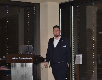 Proceram-GF Christoph Dworatzyk wurde unlängst zum Senator der Wirtschaft ernannt. Sein Fachvortrag: Aerogel-Dämmputze ©PROCERAM
