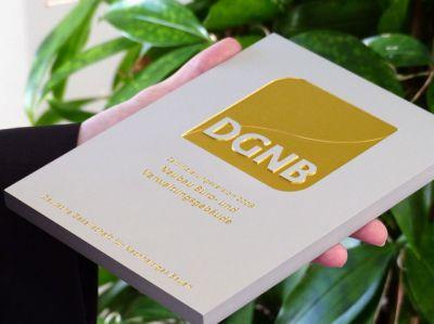 Grünes Bürogebäude in Nürnberg erhält höchste Auszeichnung! Das DGNB-Zertifikat in GOLD