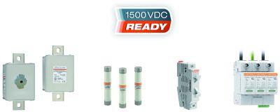 Umfassendes Mersen 1500 V DC Produktsortiment für die Photovoltaik