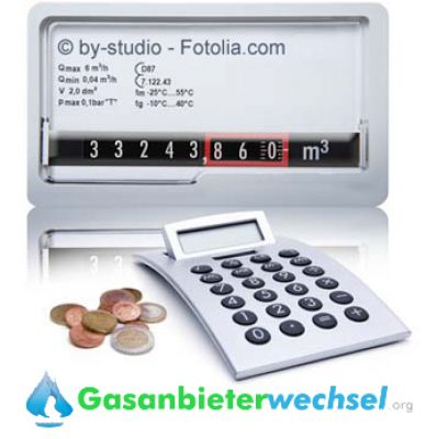 Gaszähler (© by-studio - Fotolia.com)