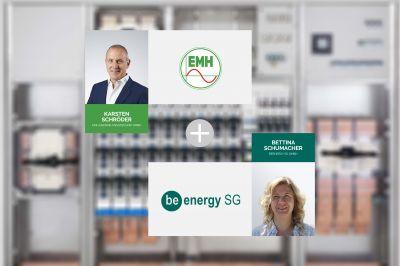 EMH und BeEnergy bündeln Kompetenz für Stromnetze der Zukunft