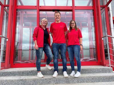 Die drei Glatthaar-Erstplatzierten beim Stadtradeln 2021 in Schramberg-Waldmössingen. Foto: Glatthaar Keller