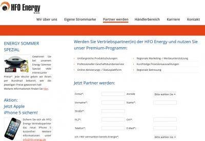 """Energie-Distributor überrascht seine Vertriebspartner mit der umfangreichen Gewinnaktion """"Energy Sommer Spezial""""."""
