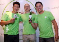 Die Gründer von Nanoleaf: Chief Operating Officer Christian Yan, Chief Visionary Tom Rodinger und CEO Gimmy Chu. Foto: HKTDC
