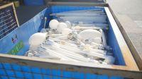 Kommunale Abfallwirtschaft nahm 3.161 Tonnen Altlampen in 2018 zurück
