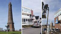 Leuchtturmprojekt für Straßenbeleuchtung an der Nordseeküste