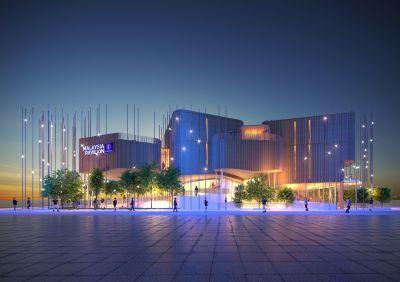 Malaysias Pavillon auf der EXPO 2020 in Dubai ist einem Regenwalddach nachempfunden. (Foto: MGTC)