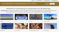market4energy.de – Marktplatz für den Kauf- und Verkauf von Energieprodukten geht an den Start