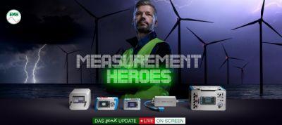 Measurement Heroes: EMH präsentiert am 21. und 22. Oktober 2020 modernste  Systeme und Lösung für die Energie-Messtechnik.