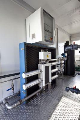 Der Biosonator von Ultrawaves erhöht die Effizienz von Biomasse-Anlagen durch Aufspaltung per Ultraschall um bis zu 15%.
