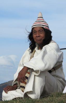 Máma José Gabriel Limaco, Kogi-Priester und spirituelles Oberhaupt der Kogi