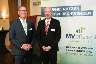 Landesenergieminister Christian Pegel beim Auftakt der Kampagne MVeffizient im Juni 2018 in Rostock  (© LEKA MV/Margit Wild)