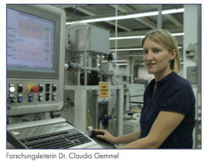 Leiterin Dr. Claudia Gemmel