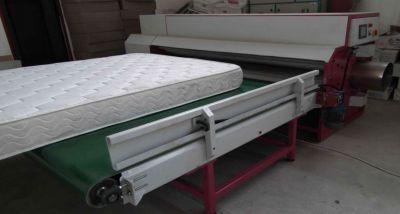 Rollverpackung von Matratzen bei HiTec Energy GmbH