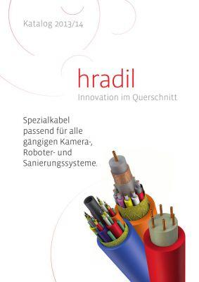 Neuer HRADIL Kanal-TV Kabel-Katalog 2013/14 erschienen.