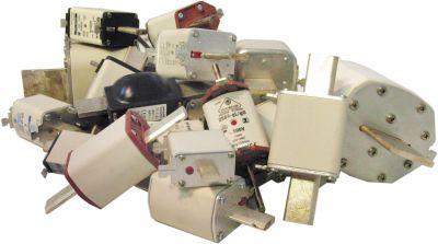 Ausgediente Schmelzsicherungen enthalten wertvolle Rohstoffe für das Recycling