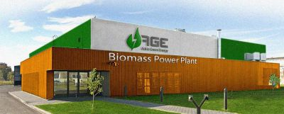 Biomass Ultima Power Plant - powered by PatentReal Corp.