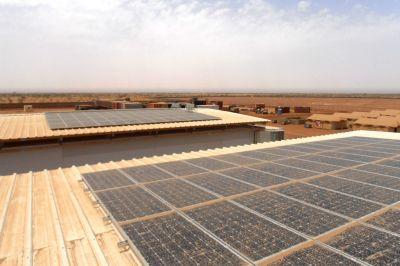 Durch die Solaranlage wird wertvoller Treibsoff eingespart