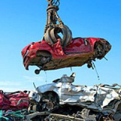 Beispiel für Altmetallrecycling