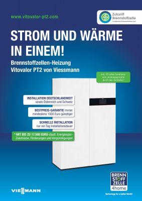 Strom und Wärme in Einem - Brennstoffzellen-Heizung Viessmann Vitovalor PT2 von Brennstoffzelle4Home