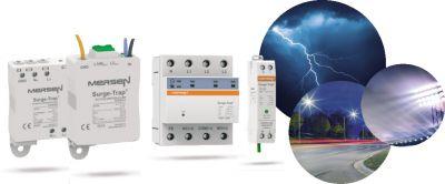 Ideal auch zur Nachrüstung Mersen Überspannungsschutz für LEDs