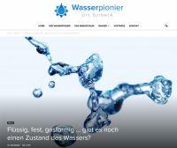 Auf http://wasserpionier.org berichtet Wasserpionier Urs Surbeck regelmäßig über unglaubliche Wasser-Phänomene.