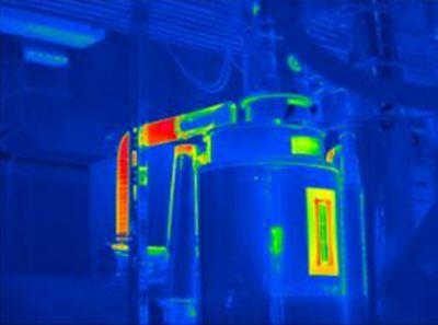 Aufdeckung von Energieeffizienzpotentialen mit Hilfe von Thermografie. Copyright: Uni Bayreuth, frei im Textzusammenhang