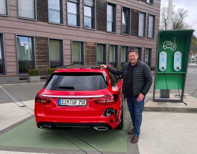 Glatthaar Keller setzt auf umweltfreundliche Produktion, aber auch immer mehr E-Mobilität. Foto: Glatthaar Keller