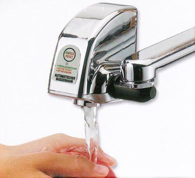 Infrarot-Sensor-Wasserhahn zum Nachrüsten für handelsübliche Mischbatterien