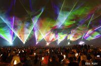 Lasershow von LPS bei Flammende Sterne, Bild: Kühl