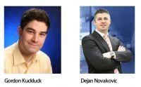 Gordon Kuckluck und Dejan Novakovic