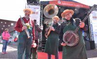 Die singenden Gärtner in Kamp-Lintfort auf dem Primavera Frühlingsfest der Werbegemeinschaft