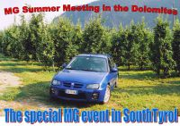 2017 MG Summer Meeting in the Dolomites