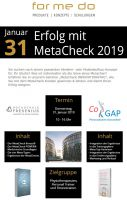 MetaCheck Fitness Innovationstag 2019