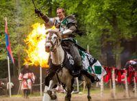 Ritterfestspiele auf Burg Satzvey. Foto: Mike Göhre