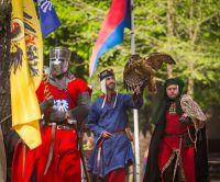 Ritterfestspiele und Mittelaltermarkt auf Burg Satzvey. Foto: Mike Göhre