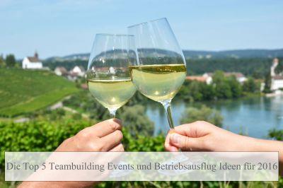 Betriebsausflug und Teambuilding Ideen für 2016 in Köln, Bonn, Düsseldorf und europaweit