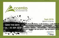 Accento 2019: Neue Fachkonferenz für Softwareentwickler