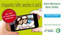 Selfie-Aktion von VRR und NWL