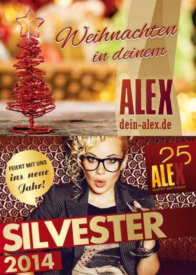 Weihnachten: ALEX; Silvester: ALEX/Shutterstock, Augustino