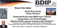 Expertenforum des Bundesverbands Deutscher Internet-Portale 20.06.2016 Berlin