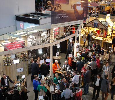 Spitzenweine der Württemberger Weingärtnergenossenschaften auf der Slow Food Messe in Stuttgart