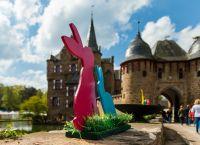 Ostermarkt auf Burg Satzvey. Quelle: Mike Goehre/Der Fotoschmied